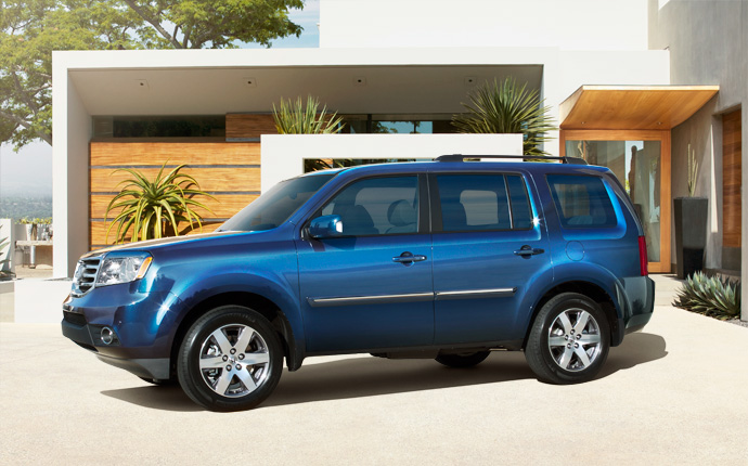10 Safest Cars of 2014 - Honda Pilot