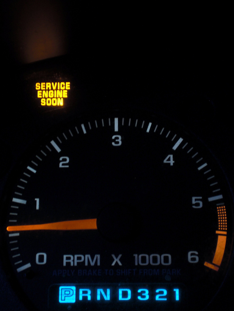 How to Turn Off Service Lights