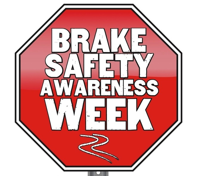 Celebrate Brake Safety Awareness Week with a Brake Check