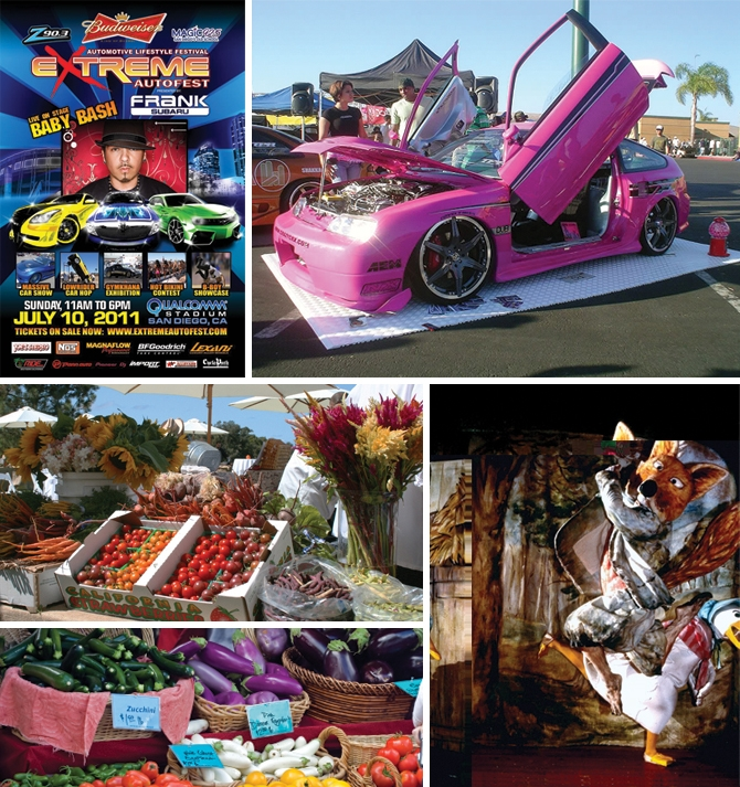 Jemima Puddle-Duck, Farmers' Markets Galore & Extreme Autofest